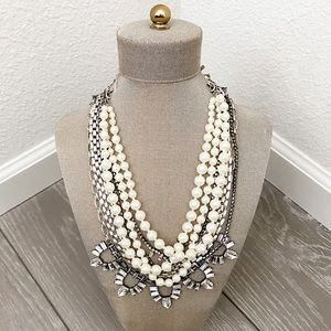 Starlit Pearl Necklace